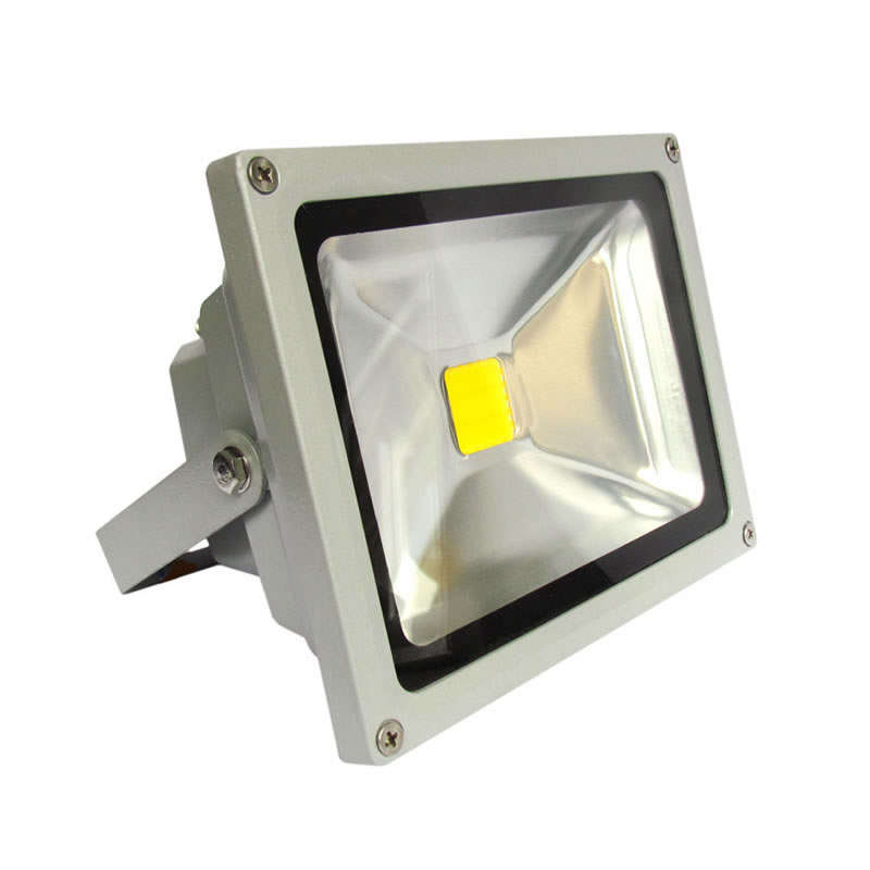 Led outdoor flood light MICROLED 20W, Cool white